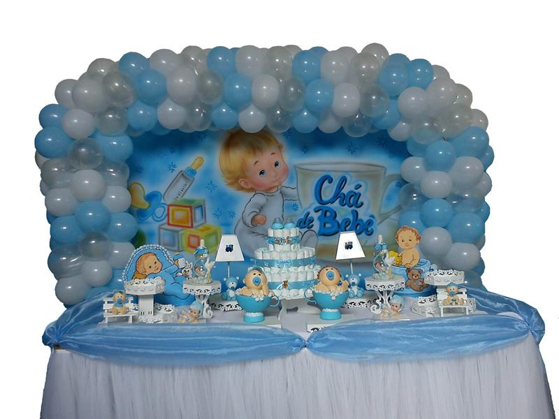 Chá de Bebê azul