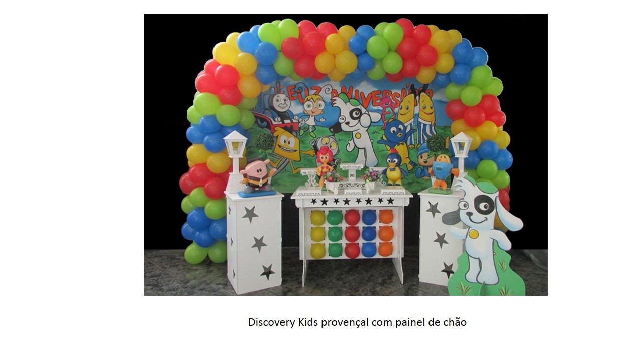 Discovery Kids Com painel de Chão Provençal