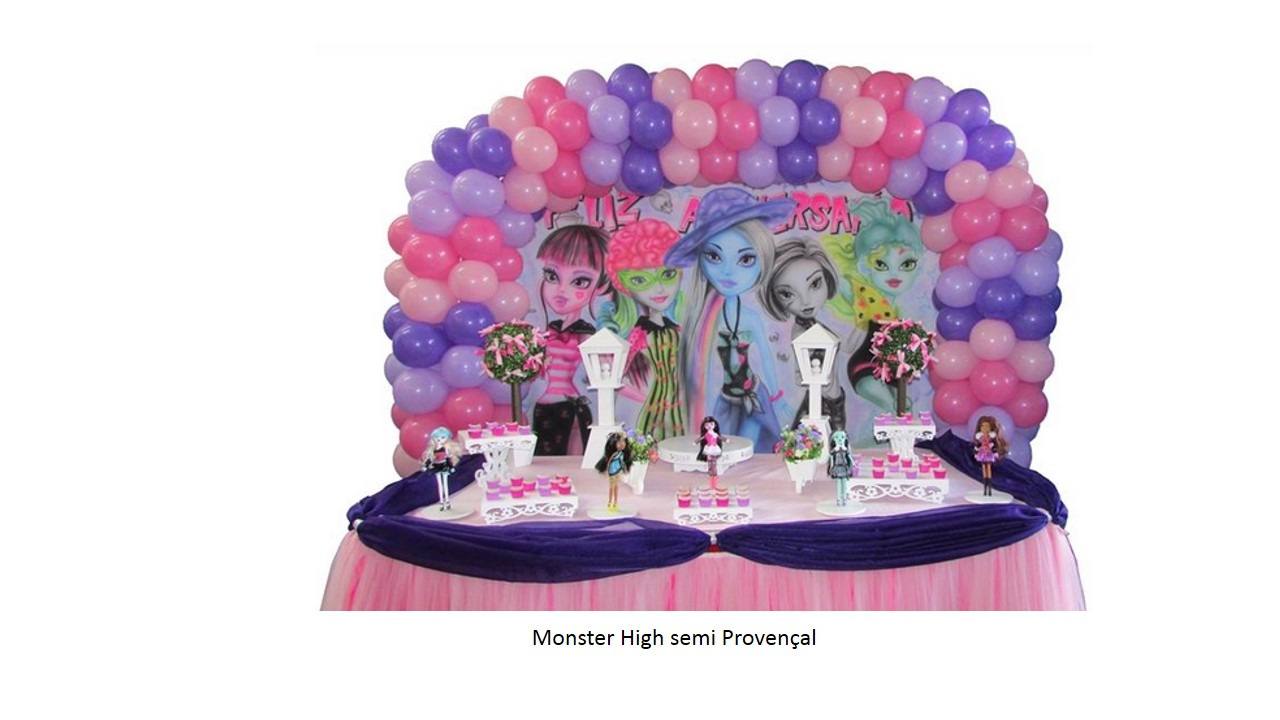 Monster High Semi Provençal