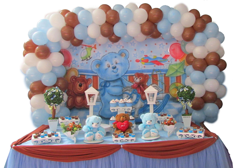 Urso azul com marron 2