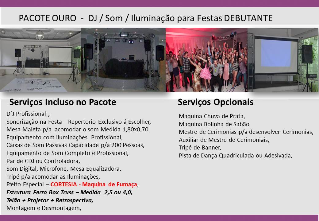 DJ DEBUTANTE 3 FOTO